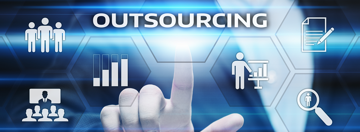 1411241 Outsourcing Human Resources Business Internet Technology Concept
